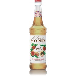 Monin Peach Syrup (70cl)