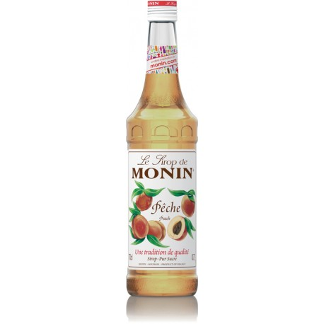 Monin Peach Syrup (70cl)