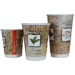 Double Wall Hot Cup 16 Oz (500)