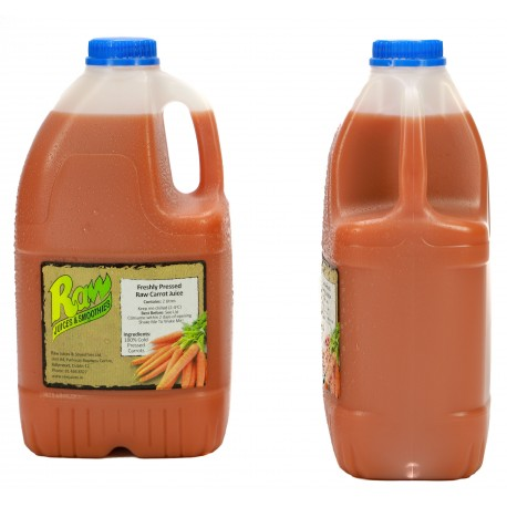 Cold Pressed Carrot Juice - 2 Litre