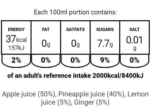EU APLG250ml Nutritional