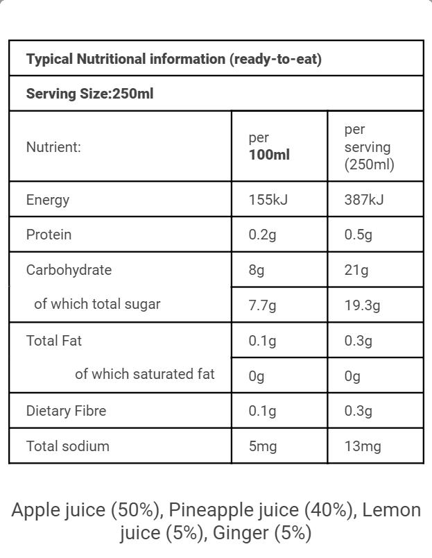SA Nutritional APLG250ml