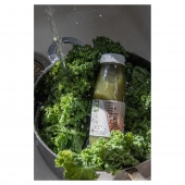 Kale is one of the most nutrient-dense foods and these nutrients are retained and used well by the body once juiced. Its B vitamin, iron and copper content supports the body's metabolism and energy production.  📸@enhancelifestyles #healthychoice #pressedjuice #healthychoices #kale #coldpressedjuice #coldpressed #greenjuice #greencoldpressedjuice #getyourgreens # #coldpressedjuice #juice #superfoods #healthylife #nutrition #juicephotography #juicephotos #naturaljuice #naturaljuices #naturaldrink #plantbaseddrink  #plantbasedjuice #vegjuice #vegjuices #rawjuice #juicingforhealth ##juicingforenergy #therawjuicecompany #therawjuicecompanyireland